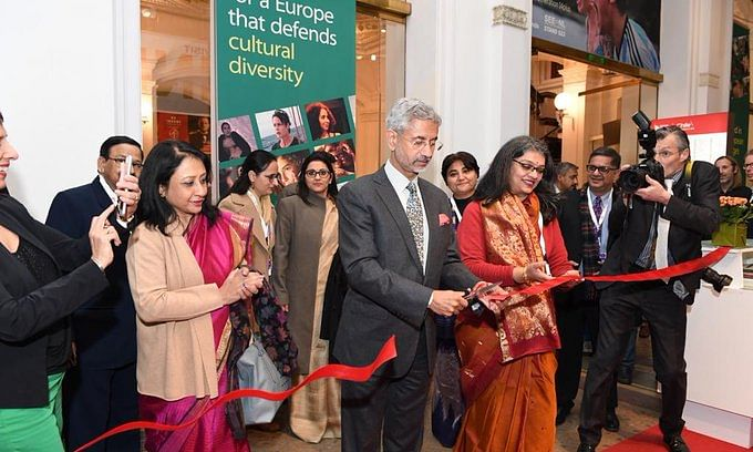 Jaishankar inaugurates India pavilion at Berlin International Film Festival