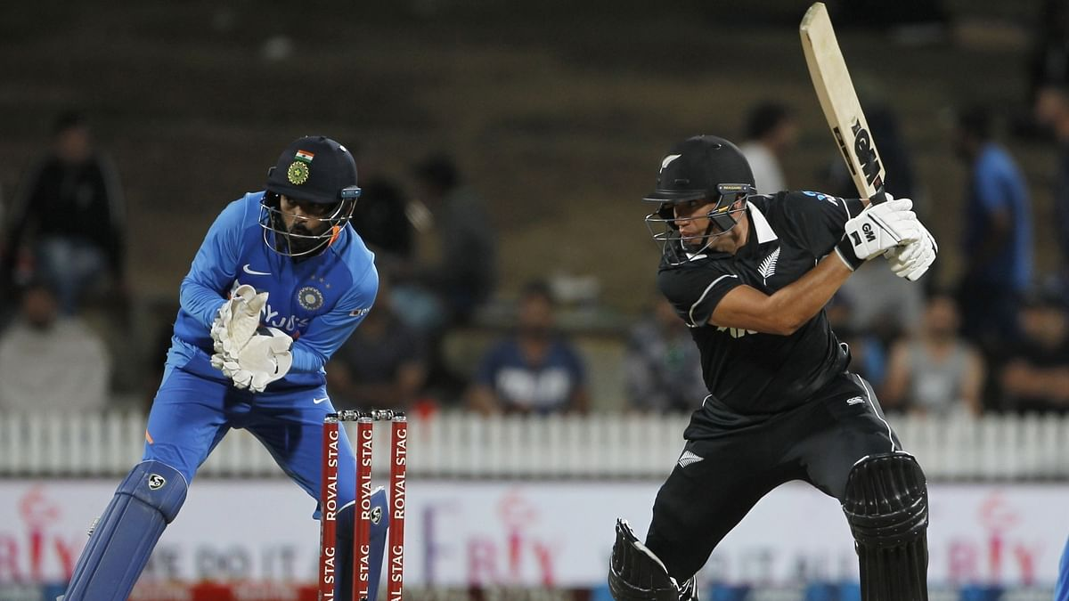 1st ODI: Taylor's ton helps NZ ace thrilling chase against India