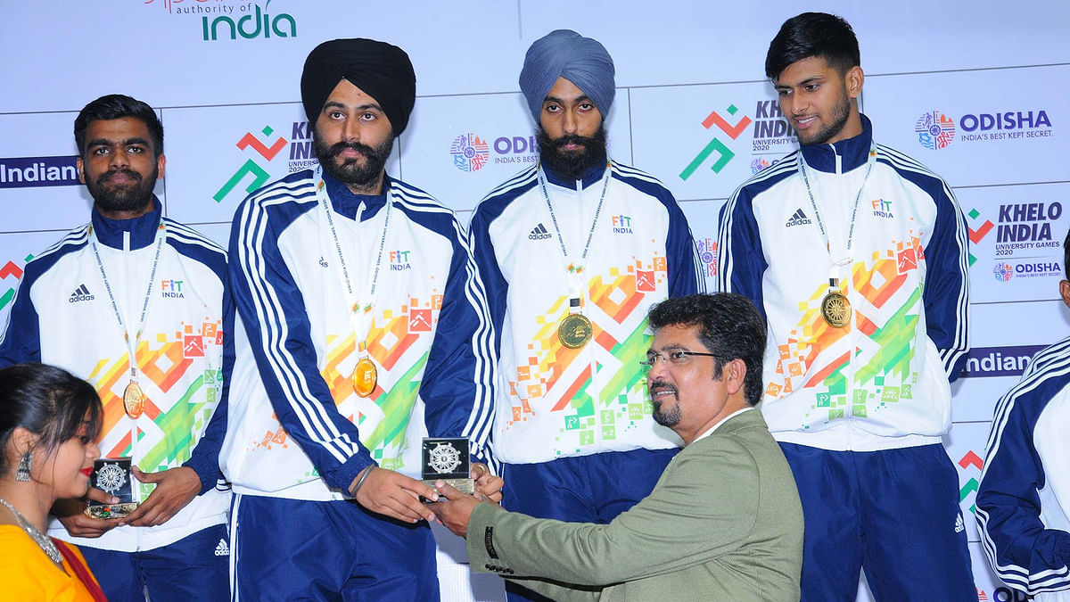 KIUG: Amritsar's GNDU shoot into the lead in the Games