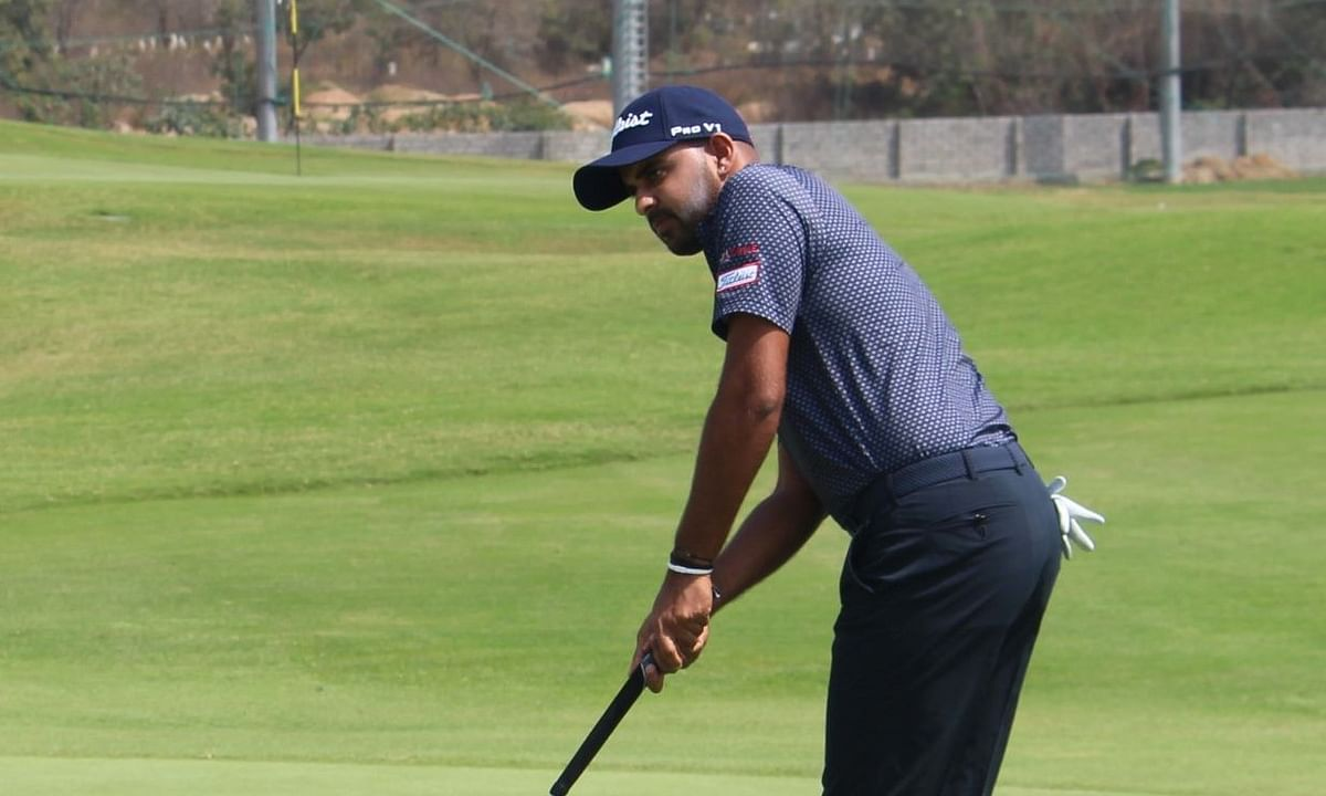 Golf: Khalin Joshi cards 67 to take two-shot lead at Golconda Masters