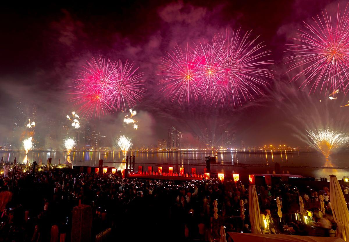 10th Sharjah Light Festival - Live Show