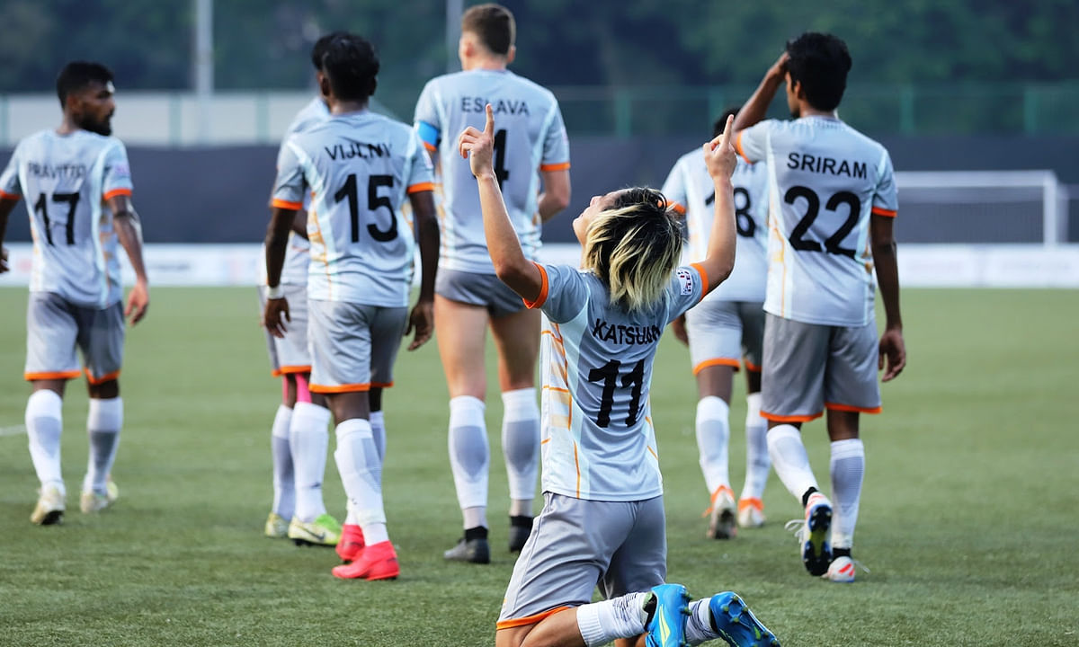 Football: Katsumi leads the show to garner crucial win for Chennai City