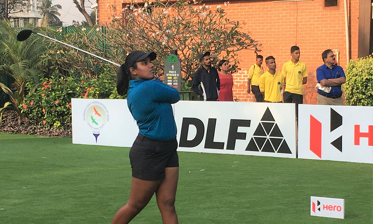 Golf: Chennai teenager Oviya takes lead in third leg of Hero WPG Tour