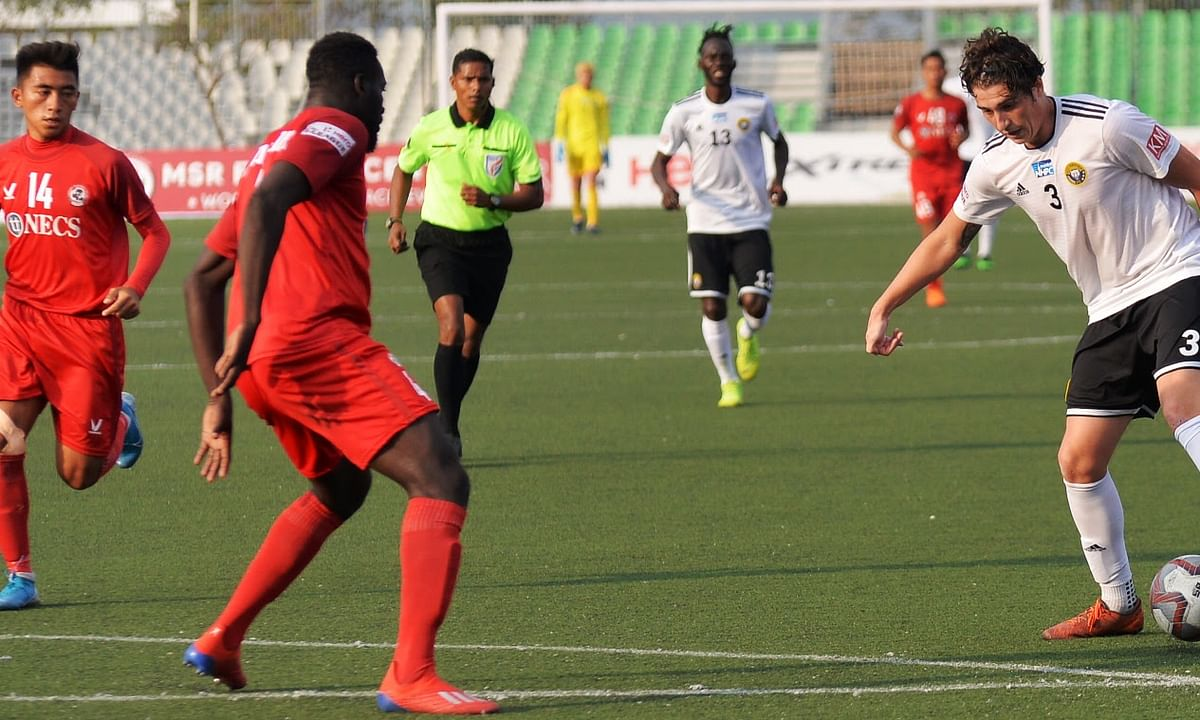 Robertson shines to help Real Kashmir conquer Aizawl