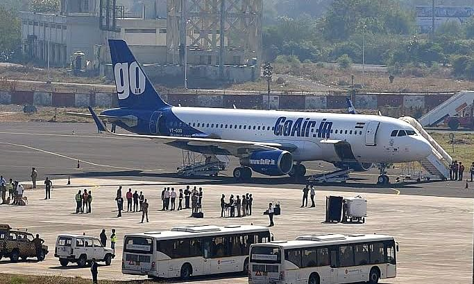 GoAir's aircraft suffers bird hit at Ahmedabad, passengers safe