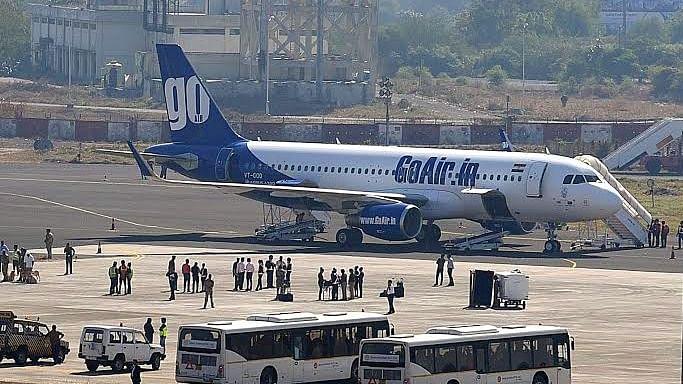 GoAir's aircraft suffers bird hit at Ahmedabad, passengers safe