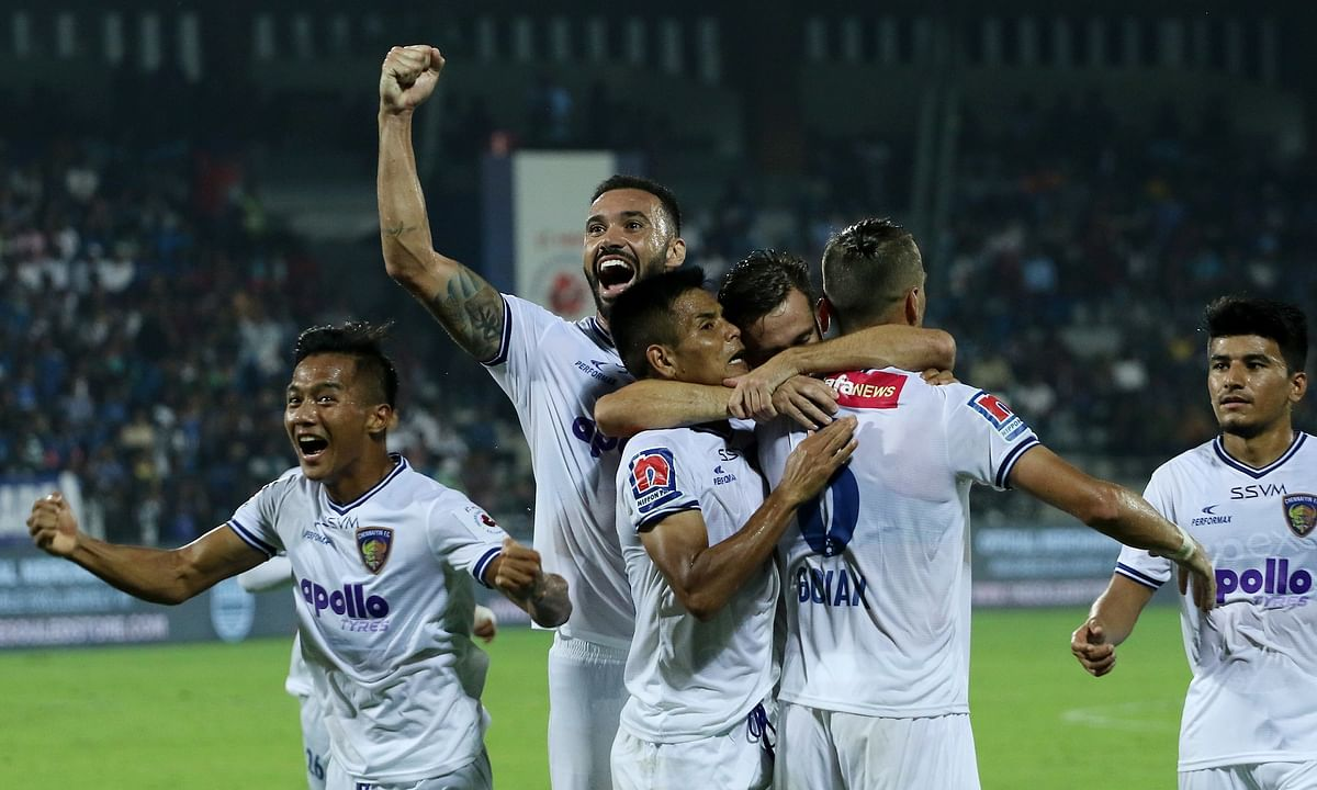 Football  ISL: Chennaiyin win, Mumbai crash out