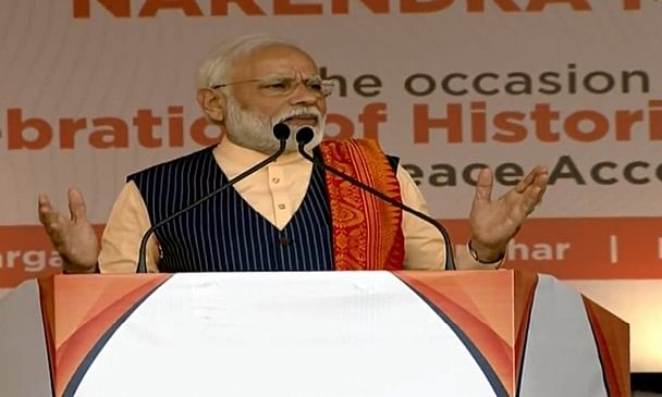 No 'danda' will work, I'm protected by people's blessings: Modi
