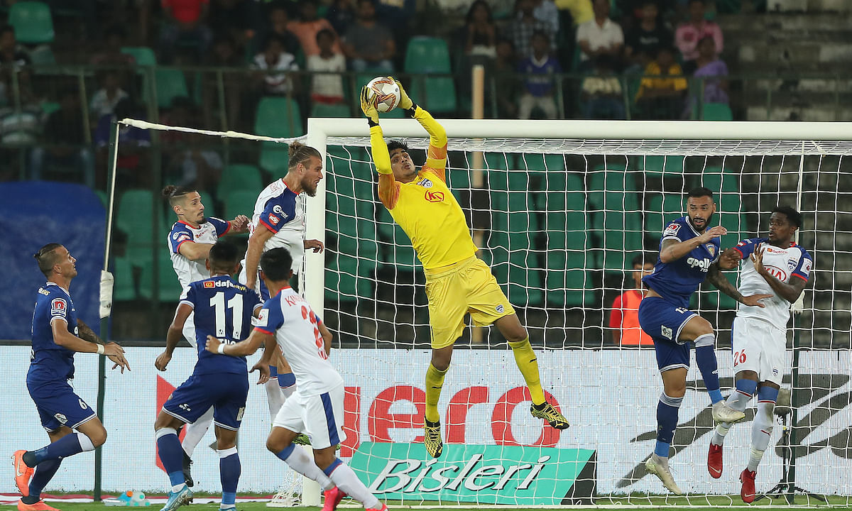 Football ISL: Misfiring Bengaluru held by ten-man Chennaiyin