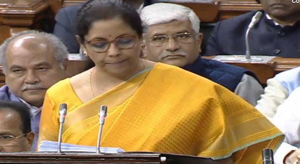Sitharaman feels unwell during Budget speech, cuts short address
