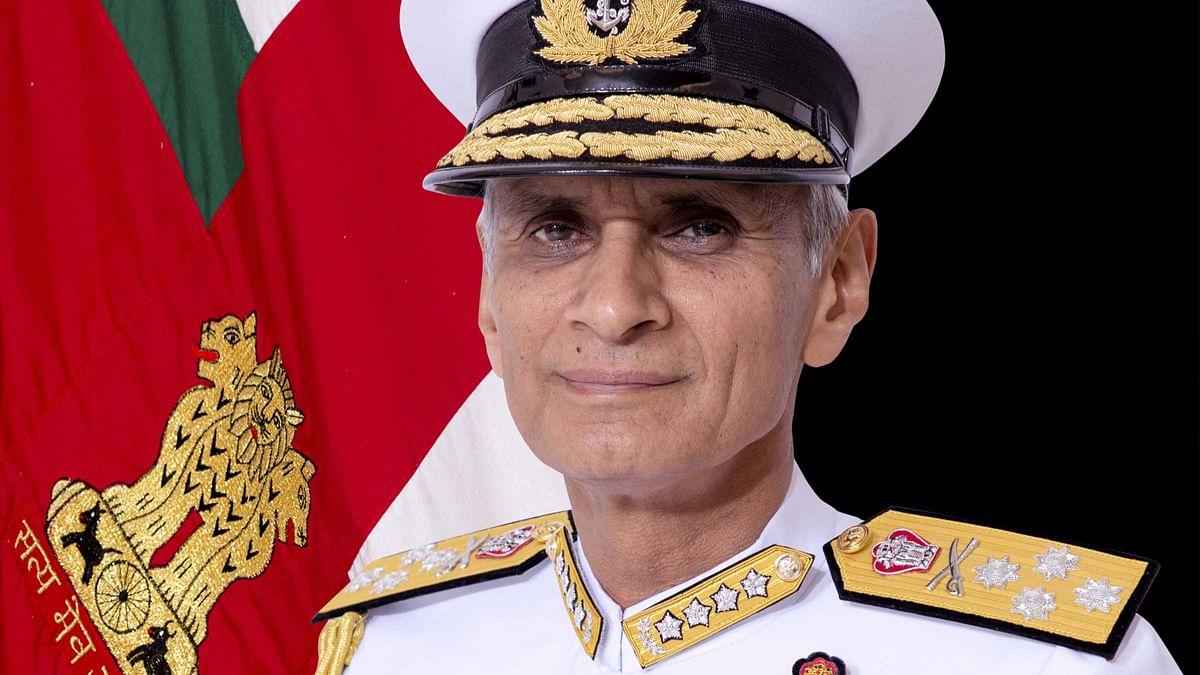 Indian Navy chief Admiral Karambir Singh on Myanmar visit