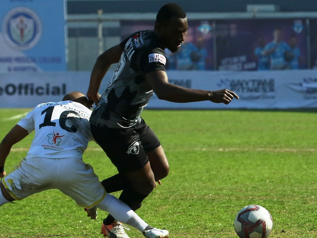 Football: Dicka's solitary goal gives Punjab much-needed win