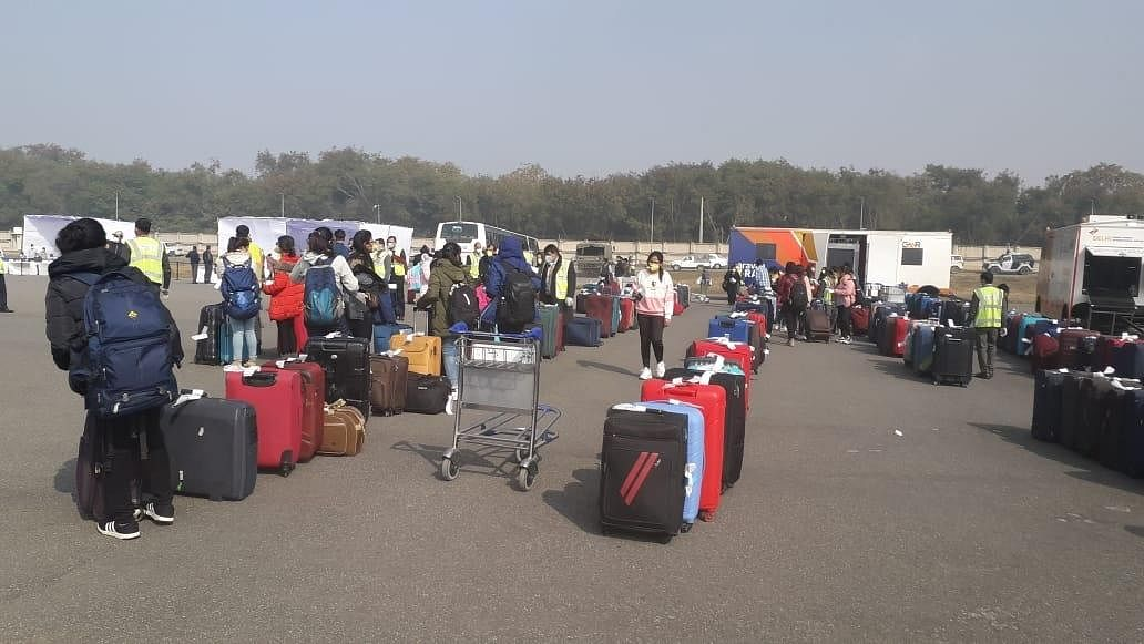 303 of second batch of 330 evacuated from China taken to ITBP camp