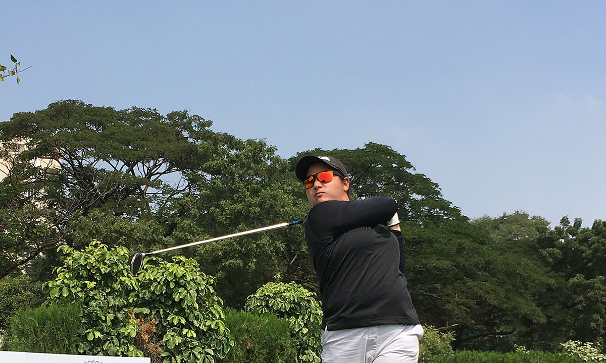 Golf: Amandeep wins fourth leg of Hero WPGT
