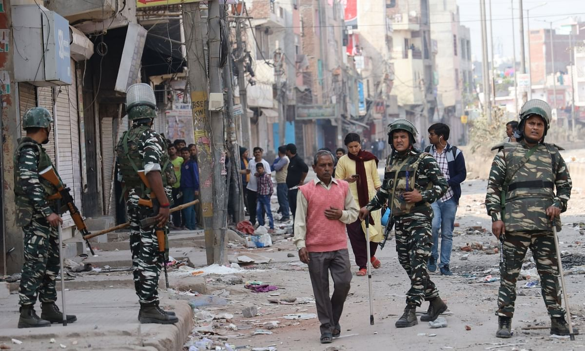 Delhi violence: Toll rises to 36, as many as 113 companies of security forces deployed