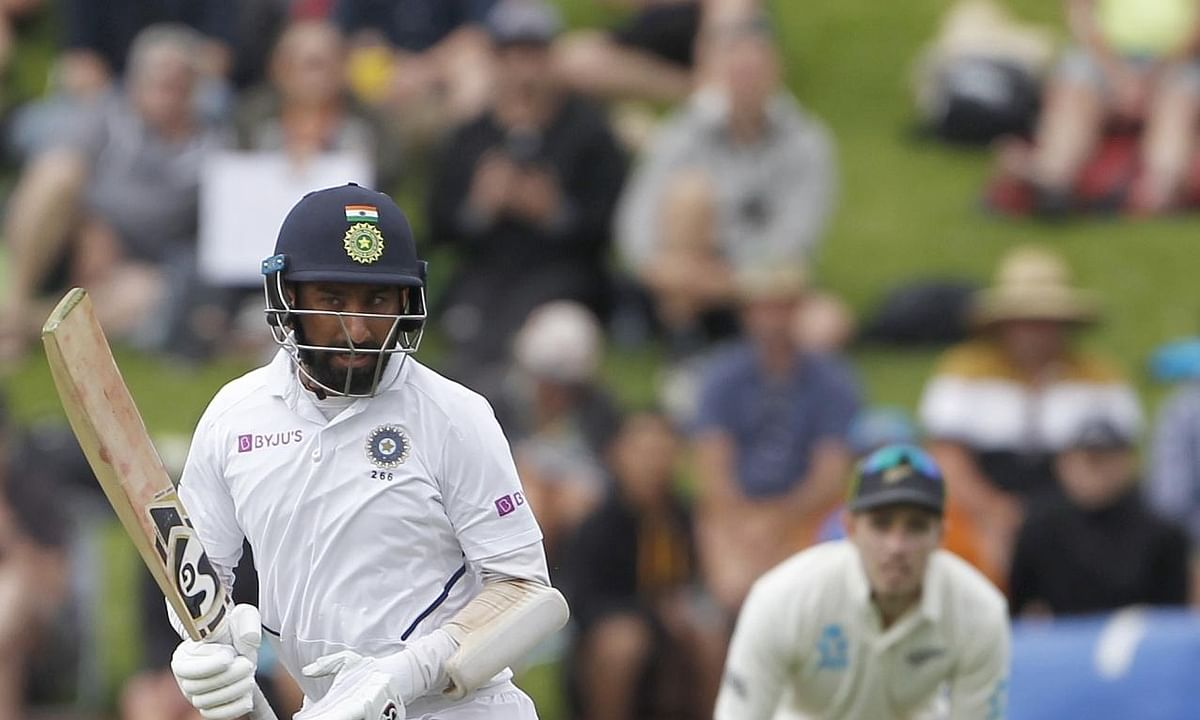 2nd Test: Pujara fights as India reach 194/5 at Tea on Day 1