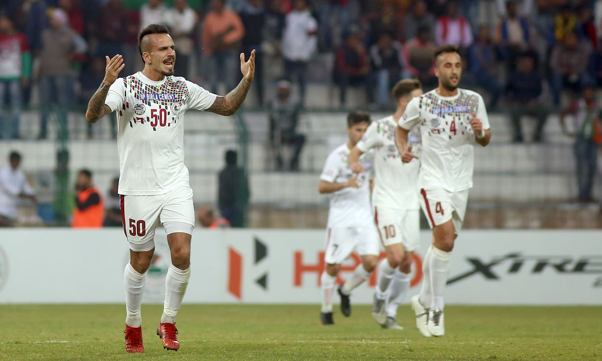 Fran Gonzalez hat-trick powers table-toppers Mohun Bagan past Neroca