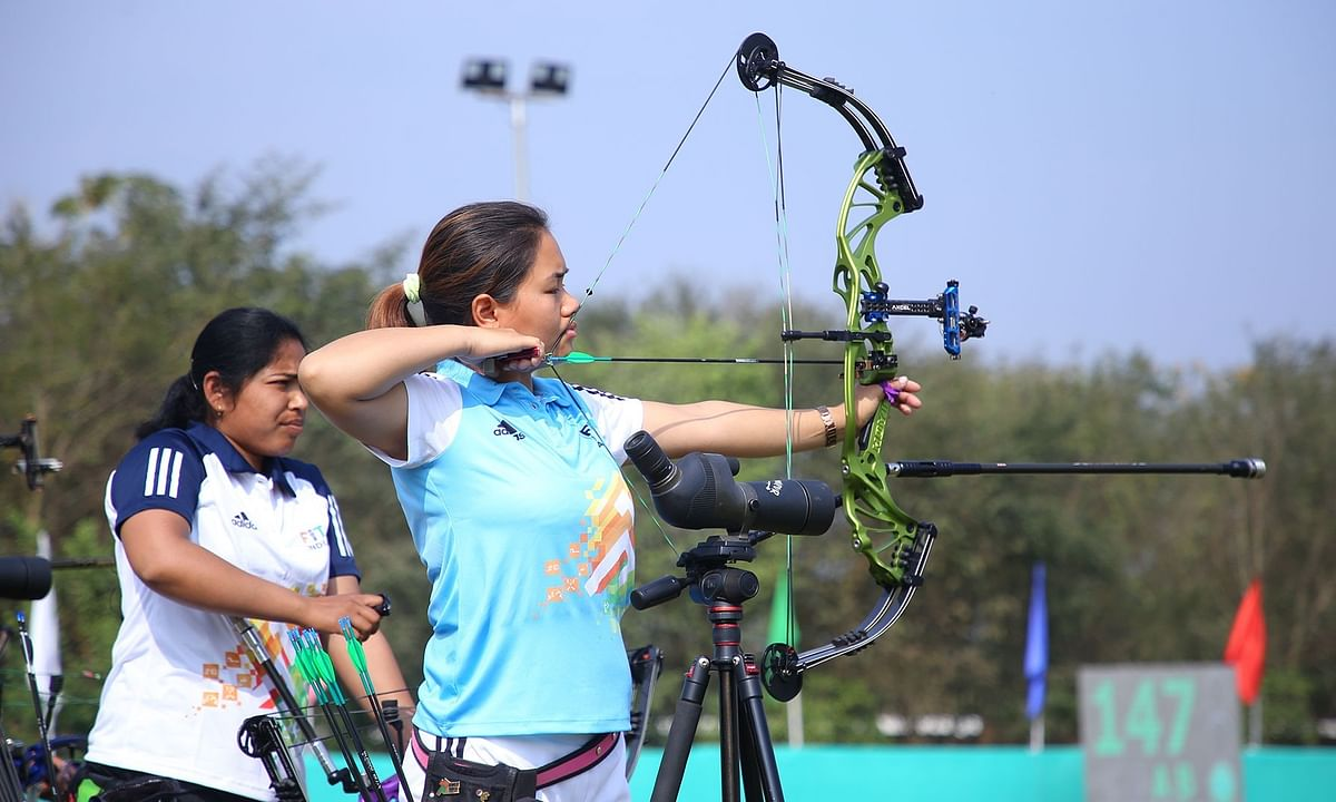 Komolika, Muskan, Sangampreet, Satyam lead archery qualifications