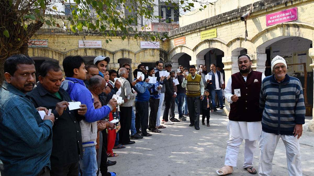 AAP takes early lead as counting of votes begins in Delhi elections