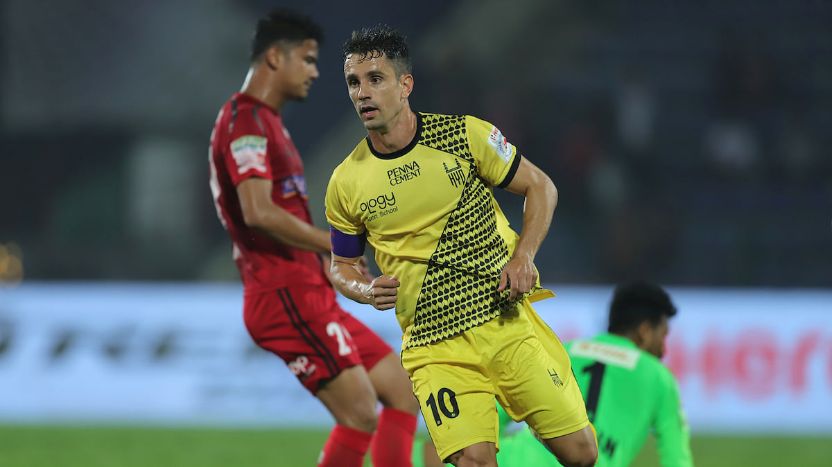 Football ISL: Hyderabad dismantle NE United, finish league with two wins