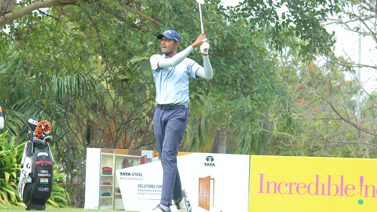 Golf: Ahlawat, Aman Raj joint leaders at Tata Steel PGTI Players Championship