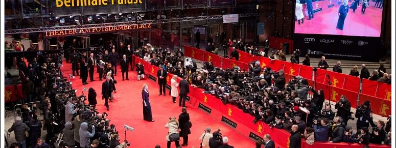 The Red Carpet at Berlinale Palast, the premier venue for the Competition at Berlinale.