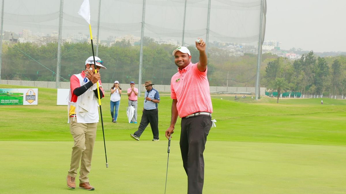 Golf: Mane continues sizzling form with play-off victory against Ahlawat