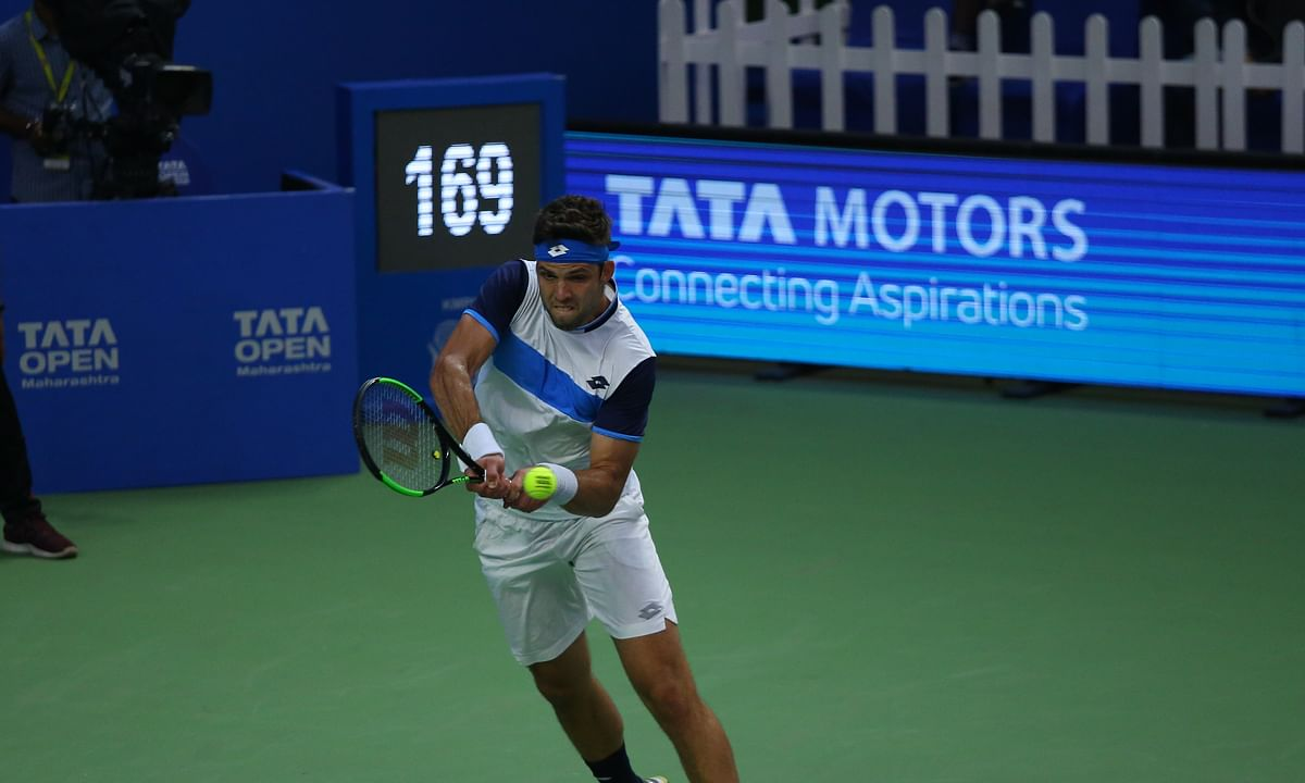 Tennis: Vesely wins Tata Open, Rungkat and Goransson claim doubles title