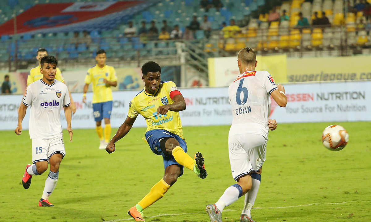 Football ISL: Chennaiyin hit Kerala for a six in Kochi goal-rush