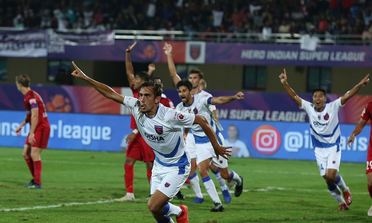 Football ISL: Odisha beat NE United, keep play-off hopes alive