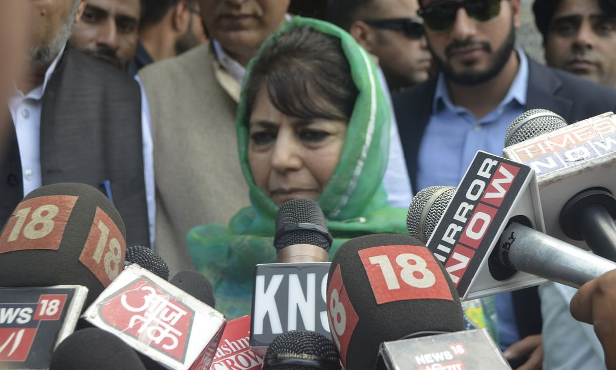 SC notice to J&K administration on Mehbooba's detention