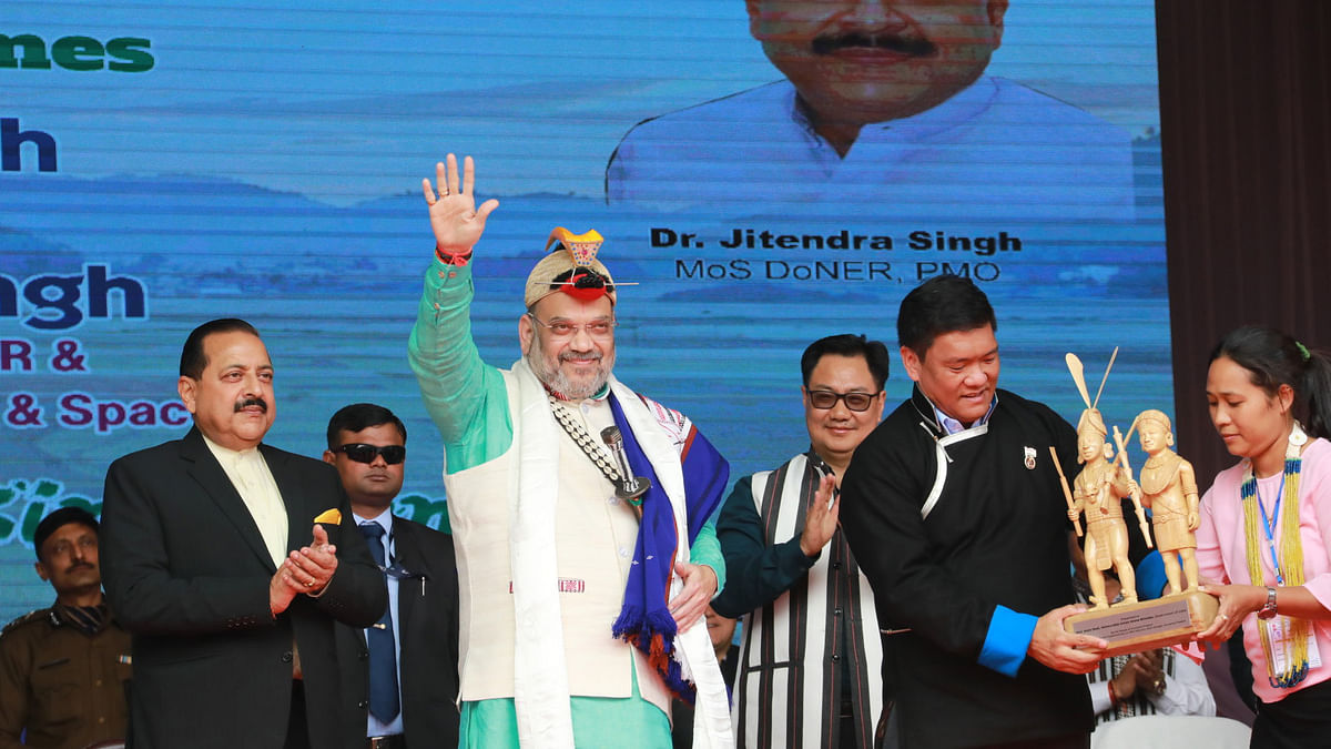 Article 371 would not be removed from the Northeast ever, says Amit Shah