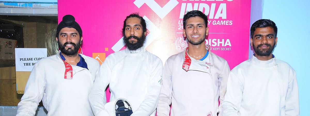 KIUG: Punjab's universities lead charge in fencing at  Games