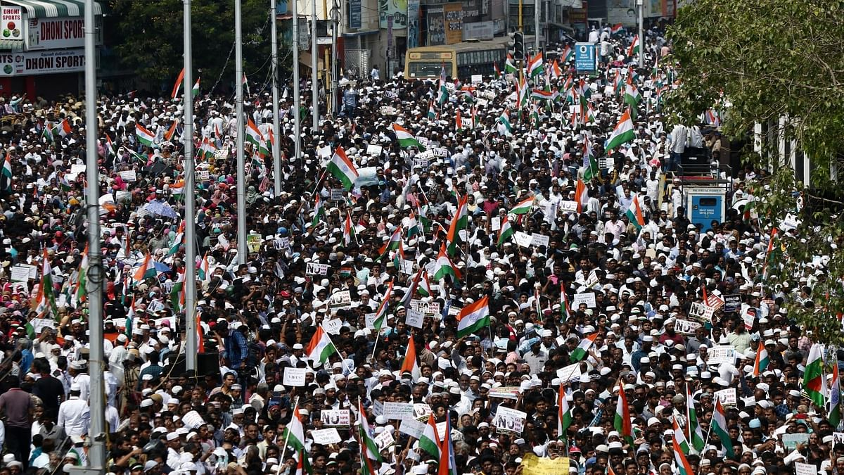 Massive anti-CAA protests in Tamil Nadu