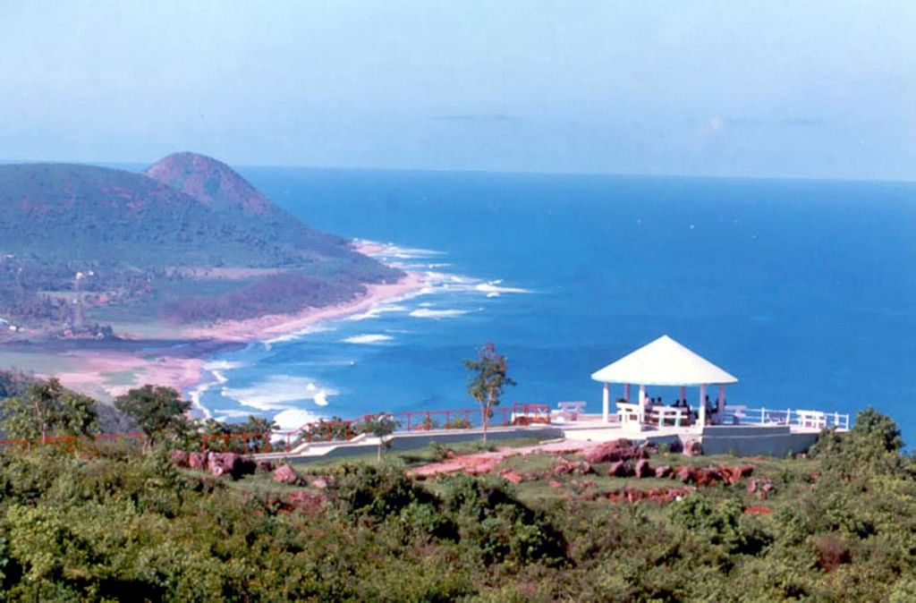 Another beautiful beach  in Vizag
