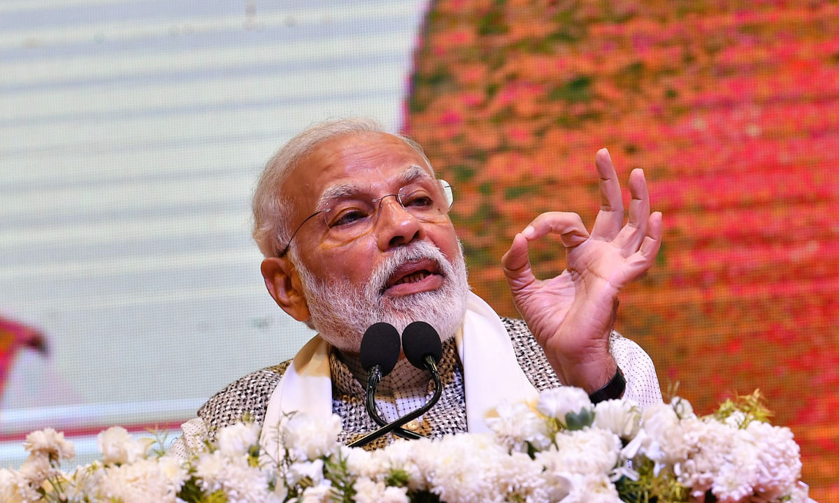 "Modi says to give his social media accounts to ""inspiring"" women for a day"