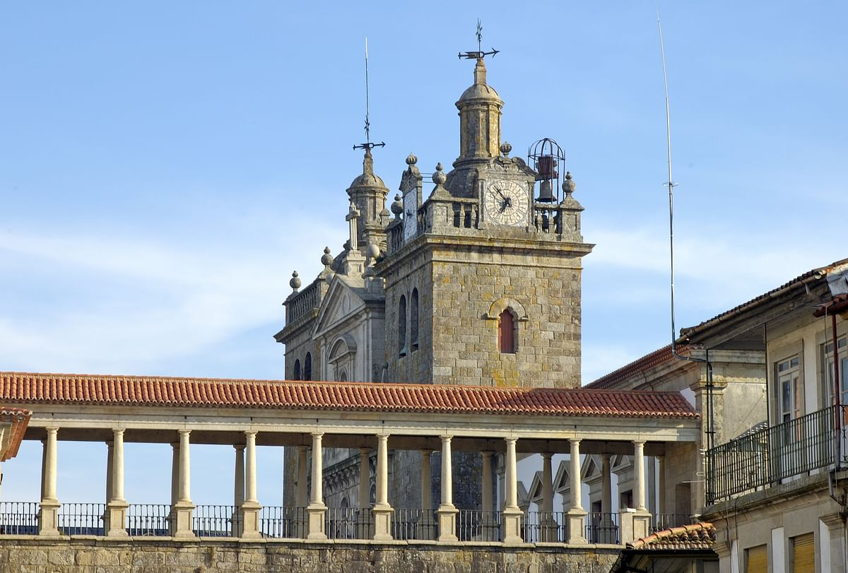 Walking the Medieval Towns of Portugal - Viseu Cathedral