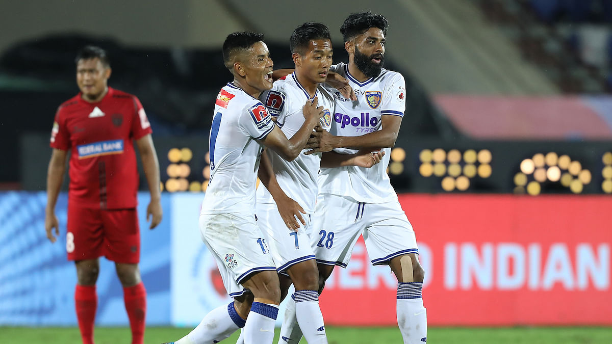 Football ISL: Chennaiyin to face Goa after draw with NorthEast