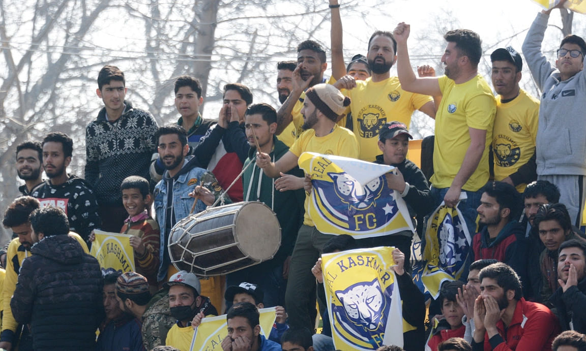 Football: Real Kashmir stay in mix with narrow win over Indian Arrows