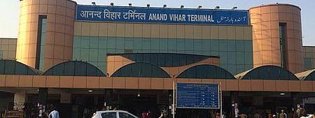 Anand Vihar Terminal in Delhi