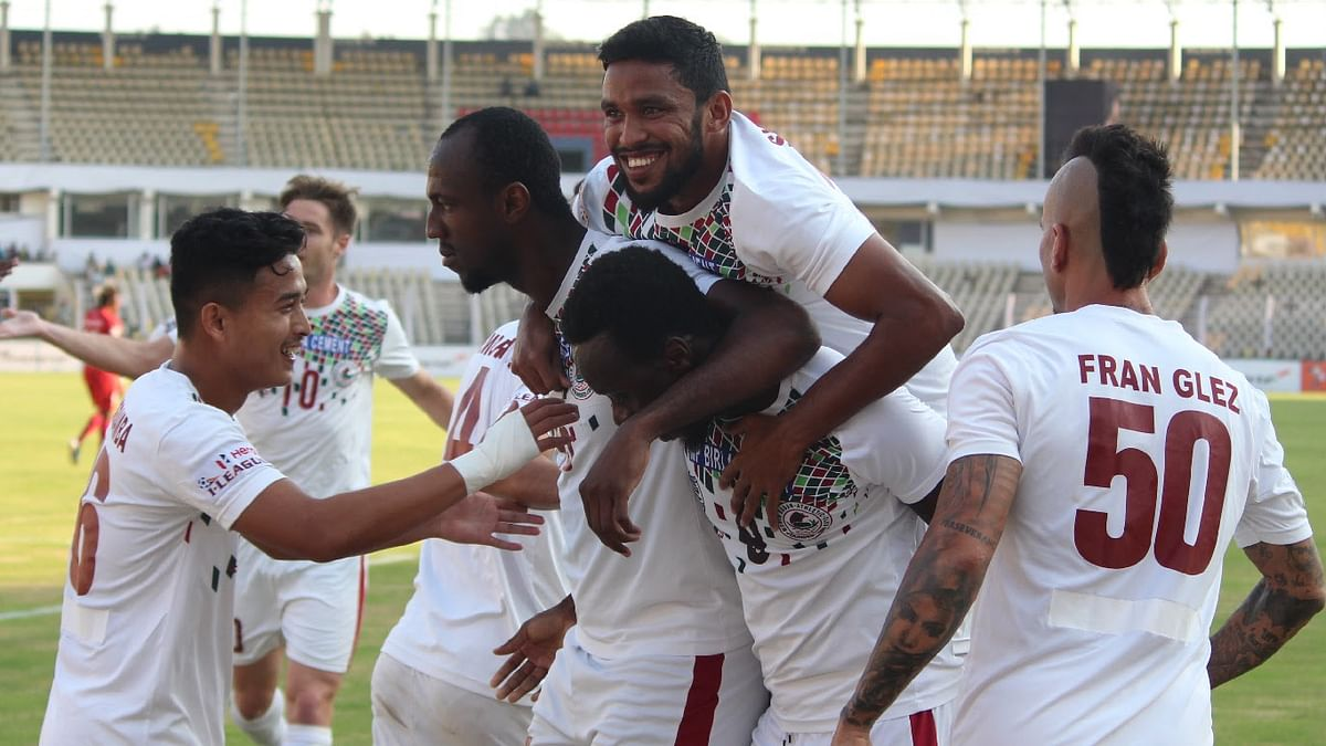 Mohun Bagan blitz Churchill Brothers to extend lead in Hero I-League