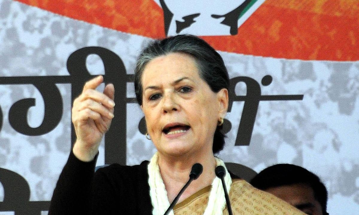 Sonia Gandhi says crisis in MSME sector could have devastating effect on economy