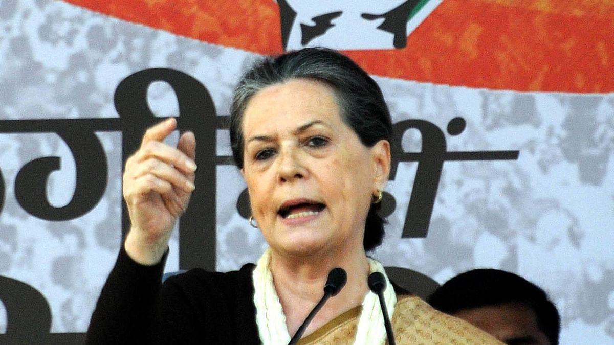 Suspend Central Vista project, ban govt ads: Sonia Gandhi to PM