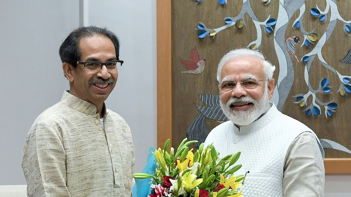 Uddhav meets PM Modi for first time since Sena-BJP split