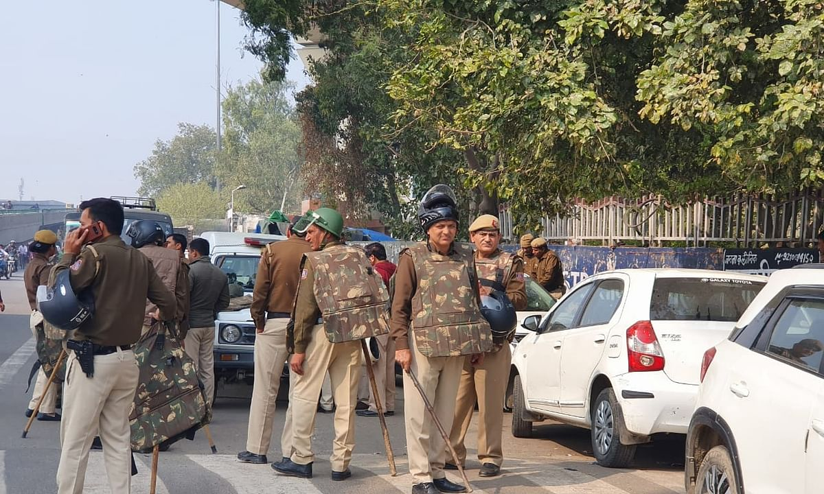 Tense situation prevails in parts of Delhi for third day