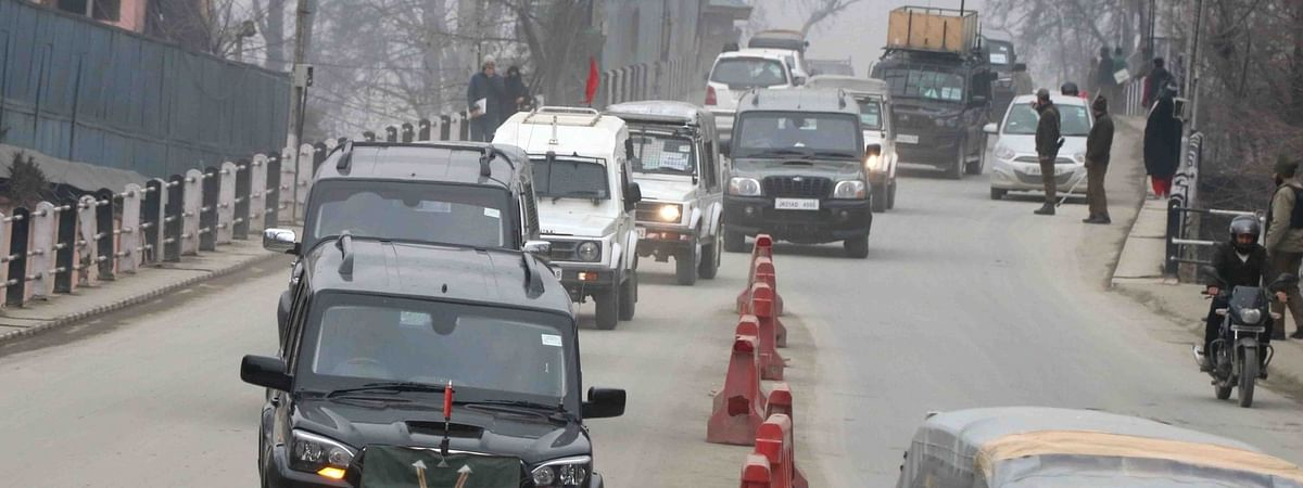 The second batch of foreign envoys arriving in Srinagar to assess the ground situation in the Union Territory of Jammu and Kashmir, on February 12, 2020.