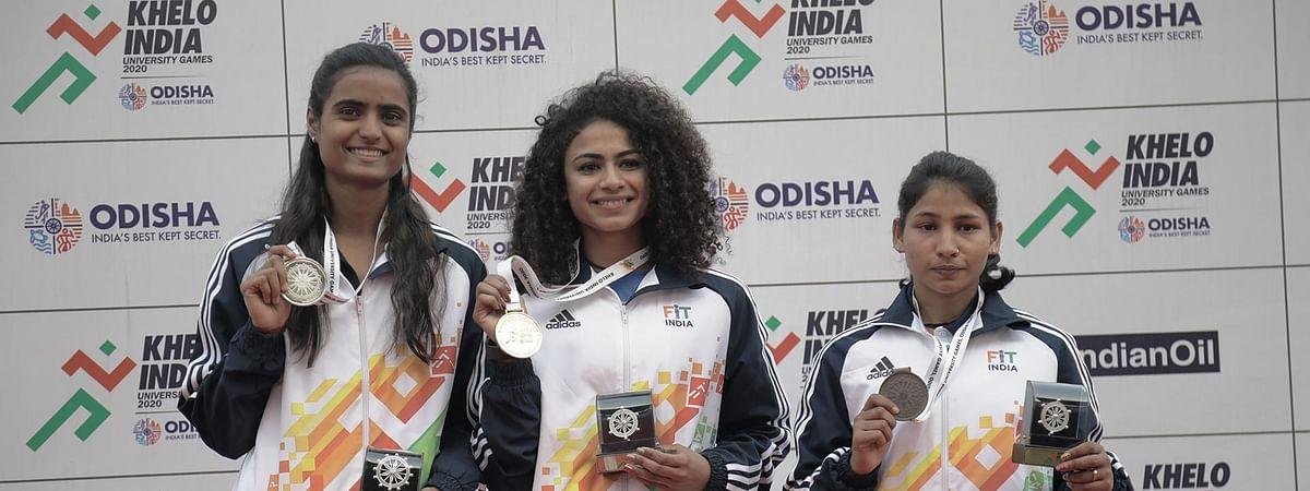 KIUG: Harmilan Bains lowers PU Chitra's 1500m record as Punjabi University rise in medal charts