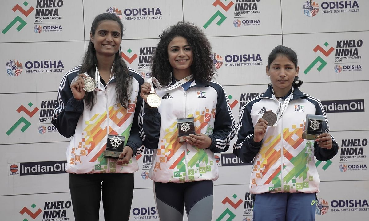 KIUG: Harmilan Bains lowers PU Chitra's 1500m record as Punjabi University rise in medal charts