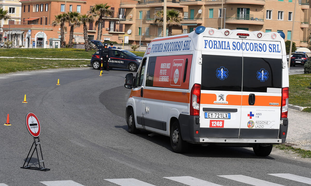 Italy reports 369 more COVID-19 deaths, 1,444 new cases, record 8,014 recoveries