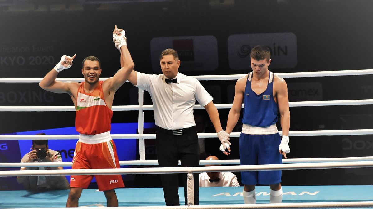 Boxing: Vikas, Simranjit in final; Mary Kom, Amit, two others settle for bronze